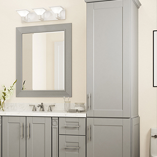 bathroom linen cabinet selection