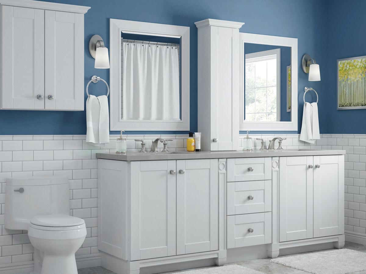 Villa Bath Cabinets by RSI  Bathroom Cabinets and Accessories